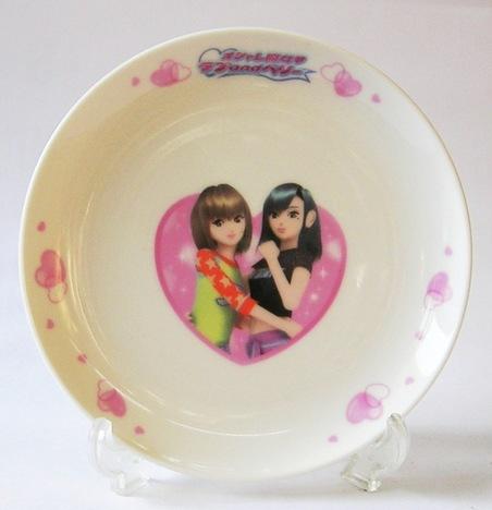 オシャレ魔女 ラブandベリー磁器製ケーキ皿 通販