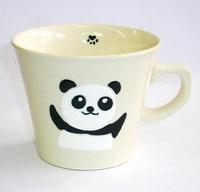 黒パンダ 陶器 マグカップ 波佐見焼 特価 通販