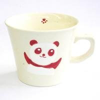 赤パンダ 陶器 マグカップ 波佐見焼 特価 通販