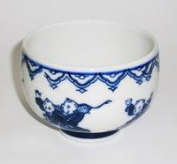 昭和レトロ唐子湯のみ 陶器食器