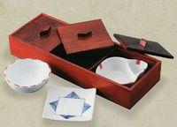 松華堂三品 木製弁当箱(器付き)在庫処分 激安 通販