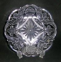クラシックガラスケーキ皿