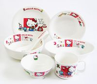 ハローキティ陶器食器セット 特価通販