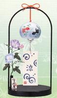 薬師窯 陶器とガラスの風鈴 特価 通販