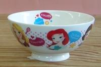 ディズニープリンセス磁器製ジュニア茶碗 特価 通販