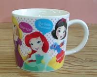 ディズニープリンセス ジュニア磁器製マグカップ