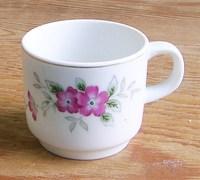 昭和レトロ 花柄マグカップ 通販