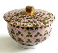 九谷焼 桜花詰め 汲出し 蓋付湯呑み 通販