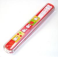 ミッフィー 箸・箸箱セット(オレンジ)特価 通販