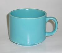 昭和レトロ ブルーグレーマグカップ 陶器 通販