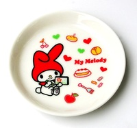 マイメロディ お絵かきミニプレート 磁器製小皿 特価 通販
