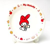 マイメロディ お絵かきプレート 磁器製ケーキ皿 特価 通販