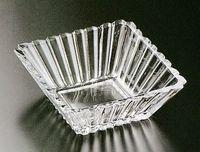 SOGA 在庫処分 ガラスケーキ皿 花柄