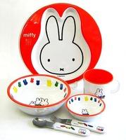 ミッフィー メラミン食器6点セット ギフト包装無料 通販