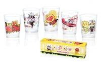 アンパンマン ガラス製ミニグラス5個入りセット 販売