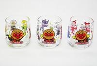 アンパンマン ガラス製強化ミニグラス3個入りセット 販売