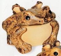 25号60センチ信楽焼 特大 カエル 蛙 かえる 置物 庭園 玄関 激安通販!