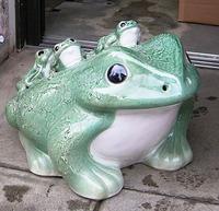 信楽焼 六蛙(むかえる)18号(子5匹)置物 通販