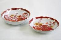 昭和レトロ 九谷焼 陶器 深皿 中鉢 食器