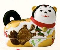 コンパクトな陶器の犬ばこ 特価 通販