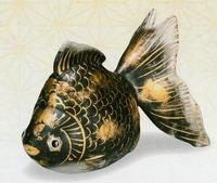 九谷焼 金魚 置物 通販