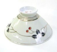 昭和レトロ 梅花柄 飯茶碗