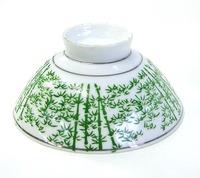 昭和レトロ 竹林 飯茶碗