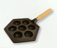 南部鉄 たこ焼き15穴セット 鉄鍋 特価 通販