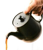 黒吹珈琲ポット コーヒーポット 玉光窯 特価 通販