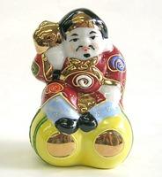 九谷焼 大黒 人形 3号 盛 通販