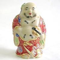 九谷焼 布袋 人形 3号 盛 通販