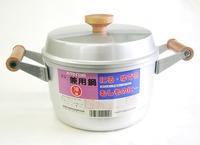 昭和レトロ ホクセイ 赤い蓋 アルミ兼用鍋20センチ 通販