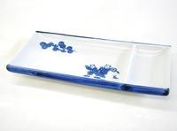 昭和レトロ 唐子仕切り皿 刺身皿 串焼き 通販 食器