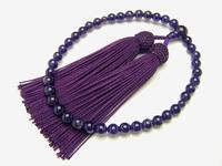 片手念珠 紫水晶 古代紫