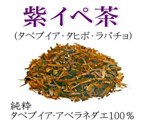元気に生き抜く力! 純度100% 純粋 紫イペ茶 -タヒボ茶- 大容量 500g (砕き茶葉タイプ)