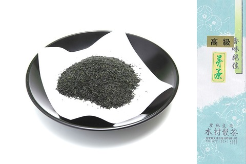 高級芽茶(甚粉)100g