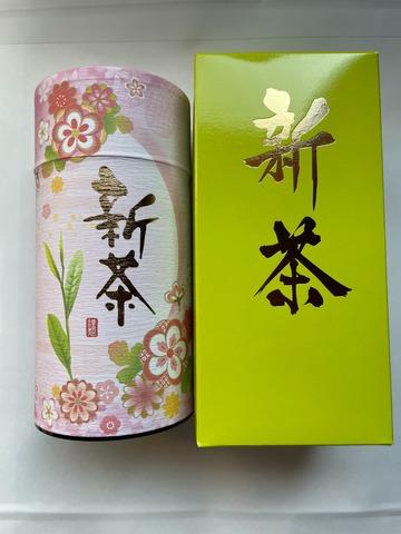 特選新茶缶入り200g