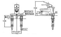 【TLHG30AE】台付シングル混合水栓