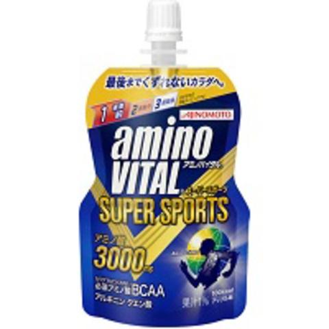 「アミノバイタル」ゼリー SUPER SPORTS 1ケース30個入