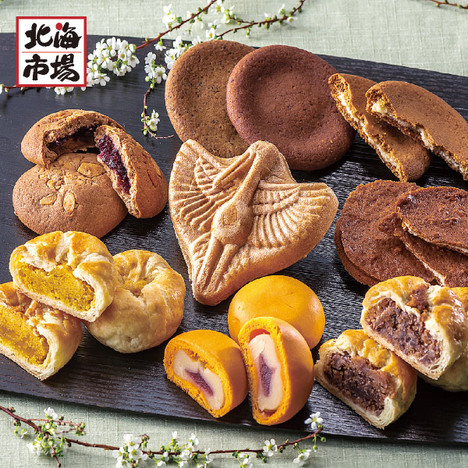 【送料無料】釧路名店 松屋菓子詰合わせ