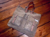 【WILL LEATHER GOODS】 ウィルレザー #31029 SMALL US ARMY TOTE アーミー トートバッグ