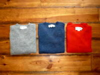 【HARLEY OF SCOTLAND】 ハーレー PLAIN CREW NECK SWEATER クルーネックセーター #2474/7