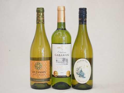 セレクション 金賞受賞酒 フランスワイン 白ワイン 3本セット 750ml×3本