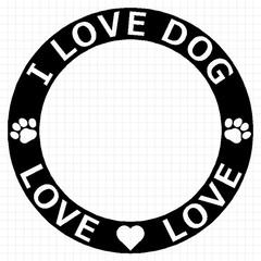 I LOVE DOG 04