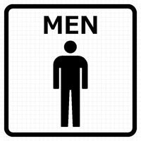 トイレ:男子