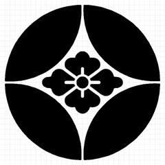 七宝に花菱紋