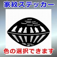 真向き蛤紋