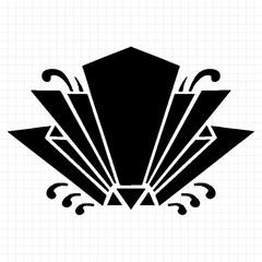 変わり蝶花形紋
