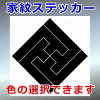 角立て紗綾形稲妻紋