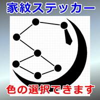 月に北斗星紋